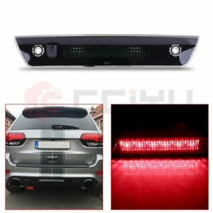 For 05 10 Jeep Grand Cherokee Led Third Brake Light Rear 3rd Stop Lamp Smoke