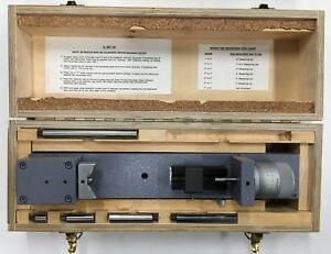 Brown Sharpe Standard Gage M3 80572 Dial Bore Gage Adjustable Setting Master