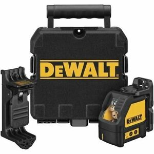 Dewalt Dw087k Self Leveling Cross Beam Multi Line Laser Level W case New 3