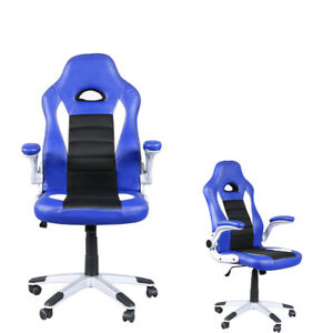 Race Car Style Bucket Seat Office Desk Chair Gaming Chair High Back