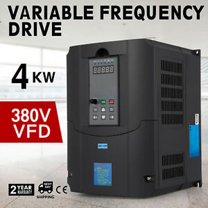 4kw 380v Variable Frequency Drive Vfd Avr Cnc Single Phase Perfect Motor Pro