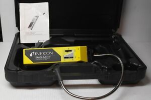Inficon Gas mate Combustible Gas Leak Detector Superb Condition Made In Usa