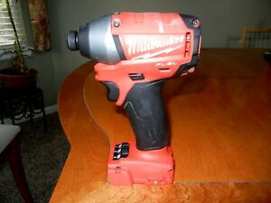 Milwaukee M18 Fuel 1 4 Impact Driver 2653 20 Free Shipping