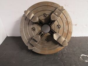 South Bend Lathe 6 4 Jaw Independent Chuck No 4006 Skinner Excellent Machinist