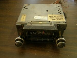 Oem Ford 1975 1976 Lincoln Am Fm 8 Track Radio Needs Work Town Car