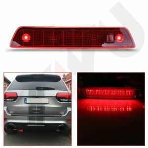 For 05 10 Jeep Grand Cherokee Led Third Brake Light Rear 3rd Tail Stop Lamp Red