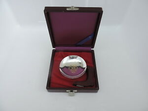 Vintage Signed Japanese Solid Sterling Silver Cup Nesting Bowl W Box 42gr 1 5 Oz