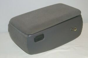 1998 2004 Ford Ranger Mazda B series Truck Center Console Storage Box Gray