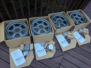 Forged Rays Te37x Complete Set Of 4 16 Wheels 6 X 139 7 Very Very Rare