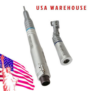 Nsk Style Dental Slow Low Speed Handpiece Straight Contra Angle Air Motor 2h 2ho