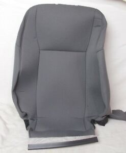 Fits Saab 9 3 Lh Front Seat Backrest Cover Upholstery Nos 12796256