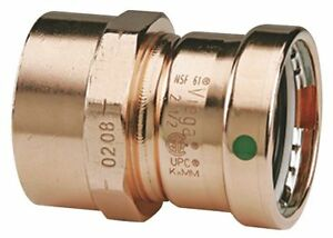 Viega Propress Copper Female Adapter Press X Fpt Connection Type 3 Tube Size