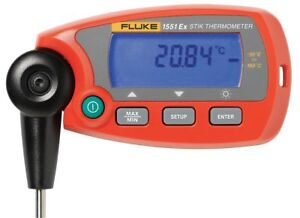 Hart Rtd Thermometer 112 To 572f Digital 1552a 12