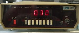 Keithley Instruments 480 Picoammeter 30v Max Input Guaranteed Nice Sale 149