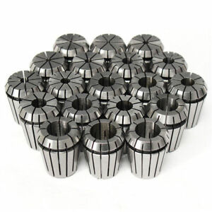 19pcs Er32 Collet Set For Spindle Motor 2mm 20mm In Metric High Precision Cnc