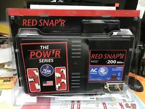 Zareba Red Snapper 200 Mile Ac Low Impedance Charger Eac200m rs