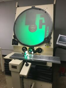 30 Scherr Tumico Model 22 2600 Optical Comparator With Qc20 Dro Late Model