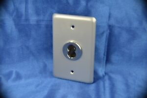Ic Core Key Switch Small Format With Single Gang Faceplate