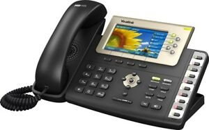 Yealink T38g Sip t38g Hd Gigabit Color Ip Office Poe Phone