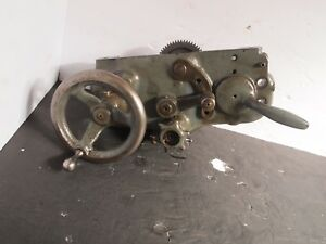 South Bend 9 Lathe Apron Assembly Used Excellent Condition