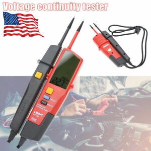 Uni t Ut18c ut18d Auto Range Voltage Continuity Tester Lcd Display Rcd Test Tool