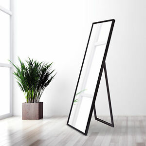 Mcgary Free Standing Floor Full Length Mirror With Adjustable Easel