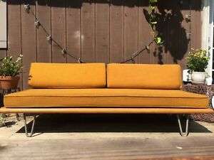 Mid Century Modern Couch George Nelson Sofa Daybed By Herman Miller