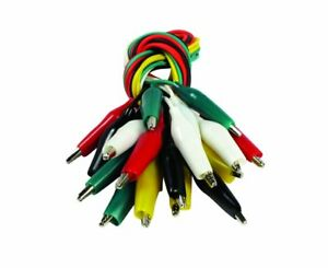 Se Tl10 10 piece Test Lead Set With Alligator Clips 12 Pack Of 10