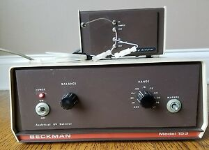 Beckman 153 Analytical Uv Detector And Optical Unit