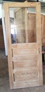 32 X 78 1 2 Entry Door With Vintage Wavy Glass