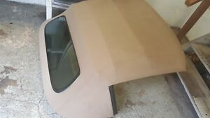 05 13 Corvette C6 Convertible Top Assembly Cashmere Beige Power With Pump