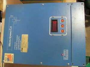 Power Electronics Variable Frequency Drive Model No M2546cx