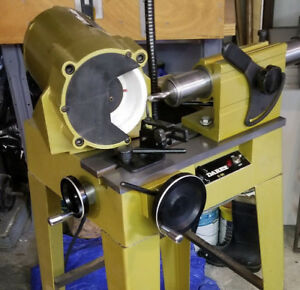 Darex Endmill Sharpener Model E 90 85 With Collets Fixtures Manual And Stand