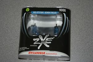 Sylvania Silverstar Zxe 9006 Pair Set Headlight Bulbs Xenon Fueled New