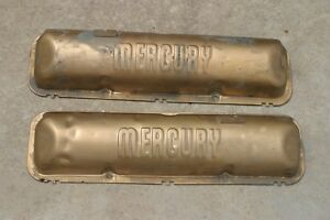 Ford Mercury Marauder Oem Baldy Style 390 406 427 428 Valve Covers Merc Rat Rod