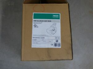 New Wilo Top S 1 25x15 Ci Pump part No 2067540 115v Circulation Pump