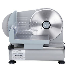 Commercial 7 5 Blade Electric Meat Slicer 150w 0 19mm Deli Food Cheese Veggies