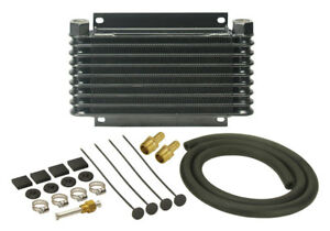 Derale 10 1 8 X 6 3 8 X 1 1 4 In Automatic Trans Fluid Cooler Kit P n 13612