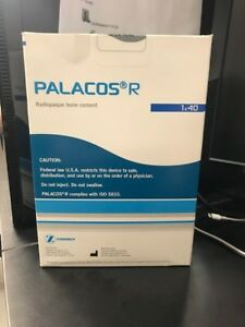 Zimmer Palacos R Radiopaque Bone Cement 1 Pack Brand New