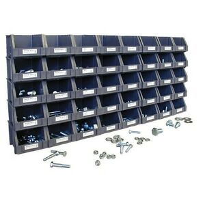 750pc Sae Bolts Nuts Washers Set 40 Organizer Bins Grade 5 Coarse Machine Hex