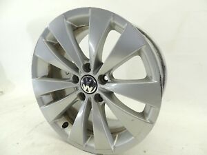 2010 Vw Cc Borbet Alloy Wheel Rim 17 5x112 Factory Oem 804c