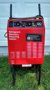 Robinair Ac Recycle Recovery Machine Model 17400