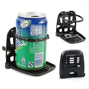 Universal Truck Vehicle Car Drink Bottle Folding Cup Holder Air Vent Stand Mount