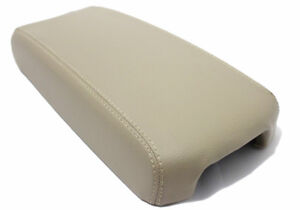 Fits 13 18 Nissan Altima Beige Real Leather Center Console Armrest Cover