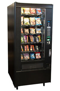 Crane National 148 Snack Food Vending Machine Candy Chips Free Shipping