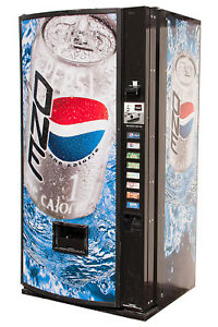 Dixie Narco 501mc Drink Vending Machine Pepsi Graphic 12oz Cans Free Shipping