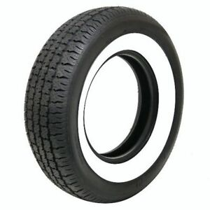 Coker 587031 American Classic Wide Whitewall Radial Tire P225 75r15 102s