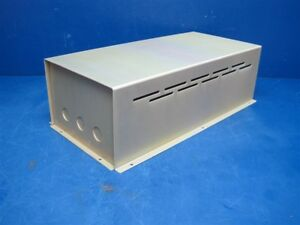 Vented Aluminum Electronics Enclosure Project Box Case Metal Electrical 15x7x4 5