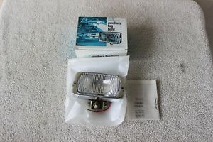 Vintage Sears Roebuck Auxiliary Fog Driving Light Nos 12v 55710 New In Box