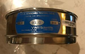Vwr Scientific Sieve 12